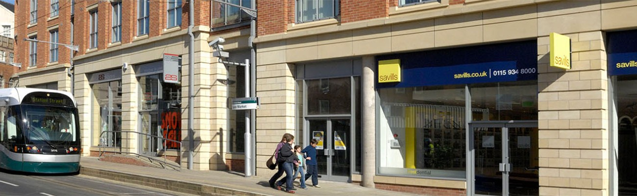 Retail Units, Flats & Car Park, Notts