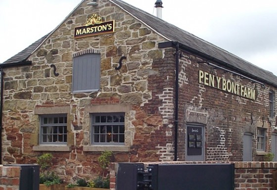 Pen Y Bont Farm Public House, Flintshire